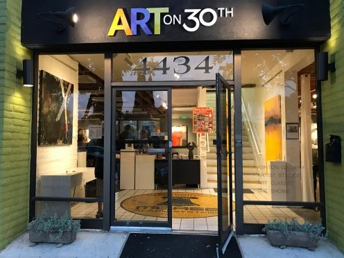 Art on 30th art center in San Diego